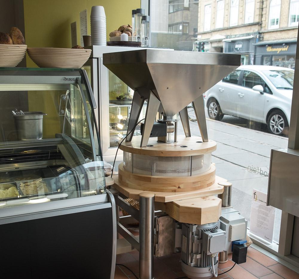 Møllen hos Foodfein i Aarhus