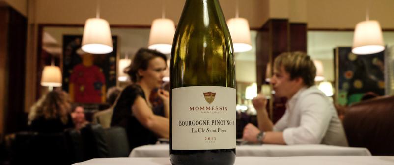 Mommessin Bourgogne, La Clé Saint-Pierre på Brasserie Belli