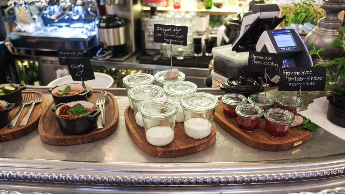 Morgenmad på Casablanca i Aarhus
