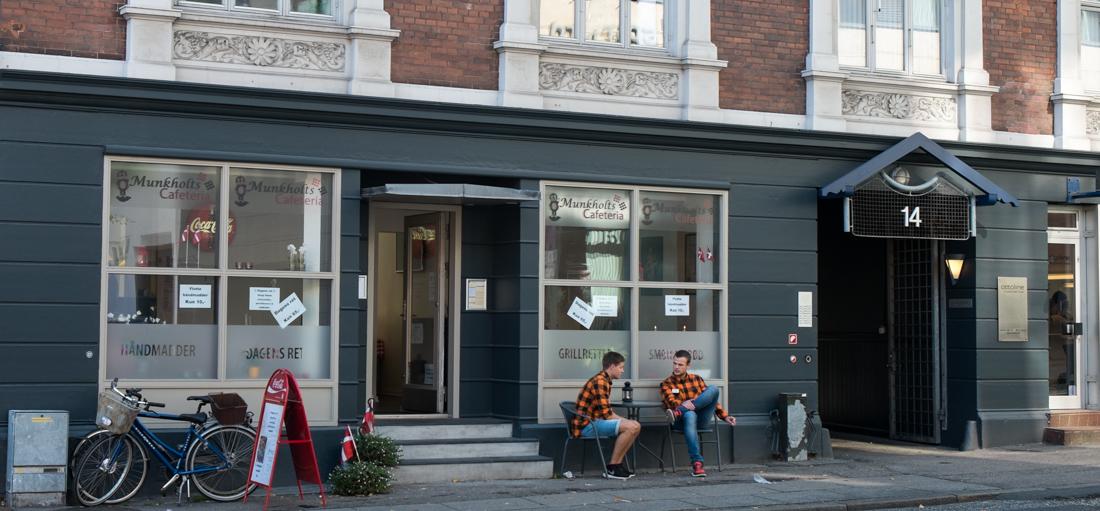 Munkholts Cafeteria i Aarhus