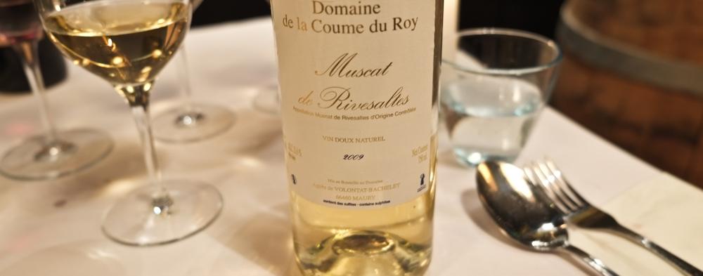 Muscat de Rivesaltes 2009 fra Domaine de la Coume du Roy i Roussillon