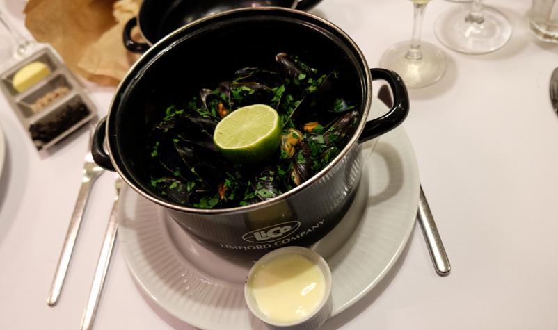 Muslinger på Brasserie Belli