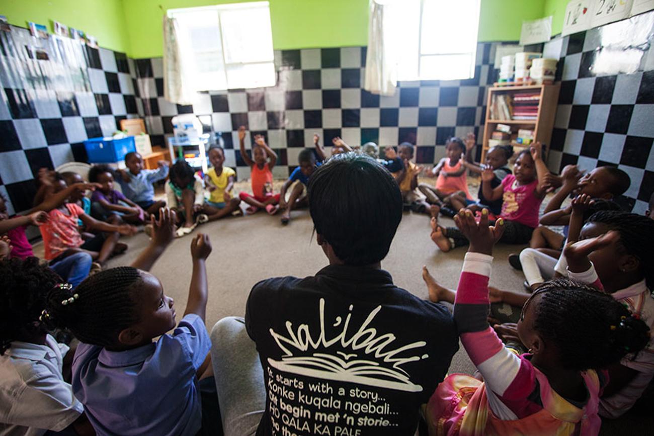 Hæder: Systematics Joy of Reading-pris skaffer bøger til børn i Sydafrika