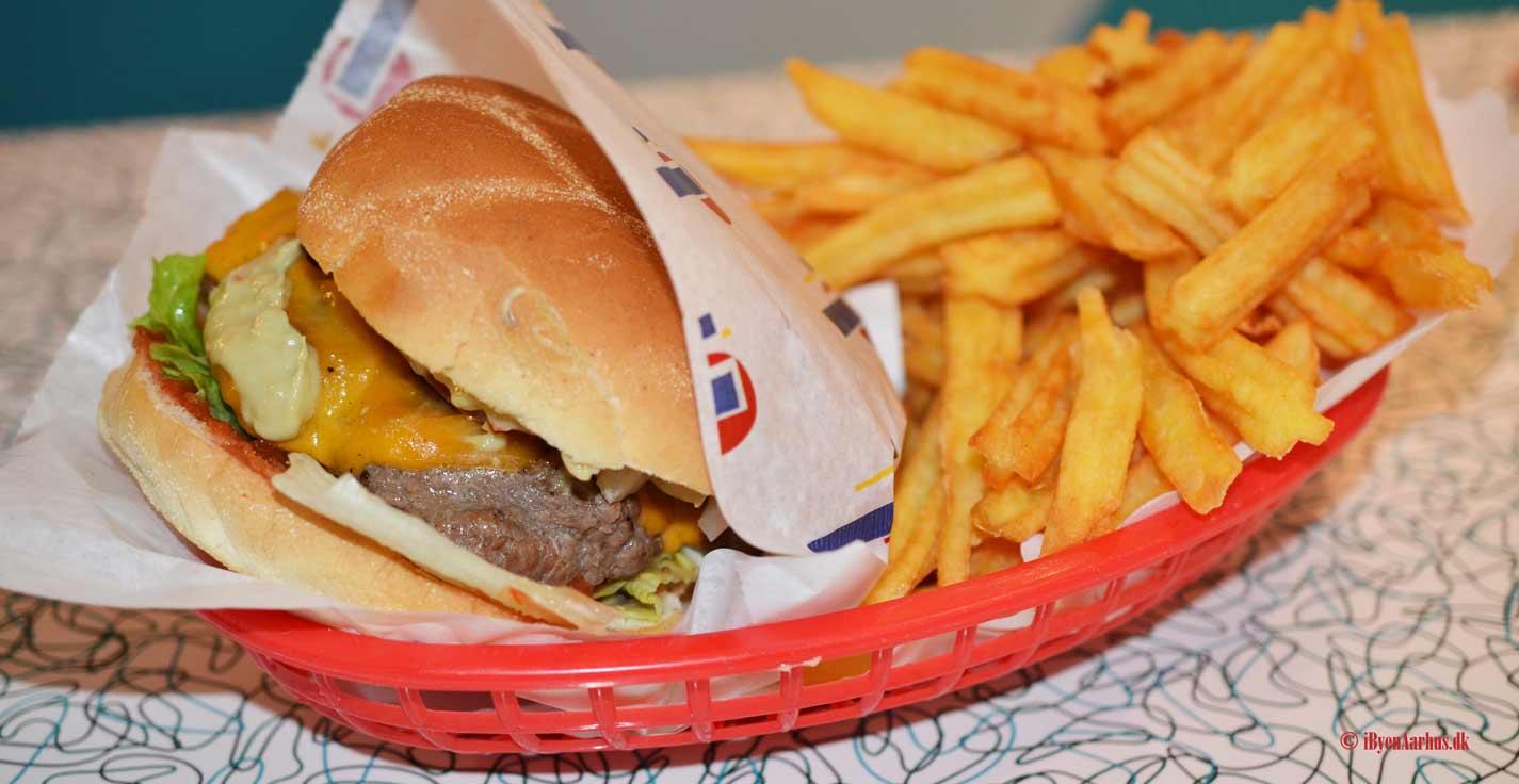 U.S burgere på The Diner i M.P. Bruunsgade
