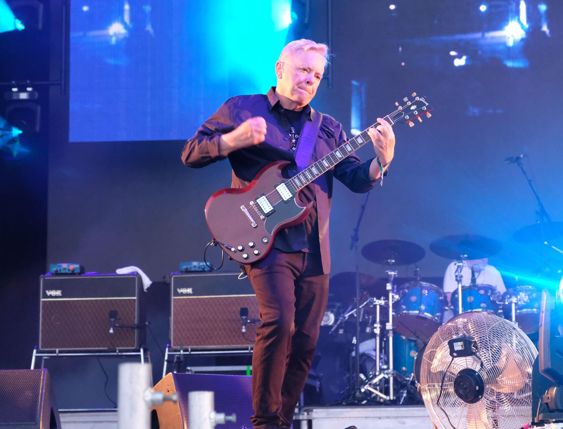 Anmeldelse NS19: New Order leverede klasse koncert og lod musikken tale