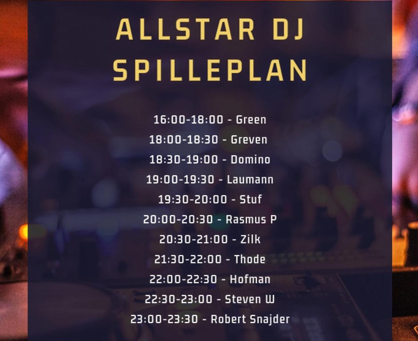 NO16 Rooftop: Intet mindre end 10 all star DJ's spiller på toppen - samme dag!