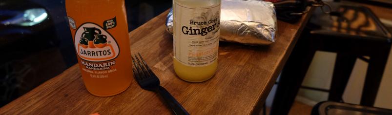 Non alkohol på Burrito på Chido i Mejlgade i Aarhus