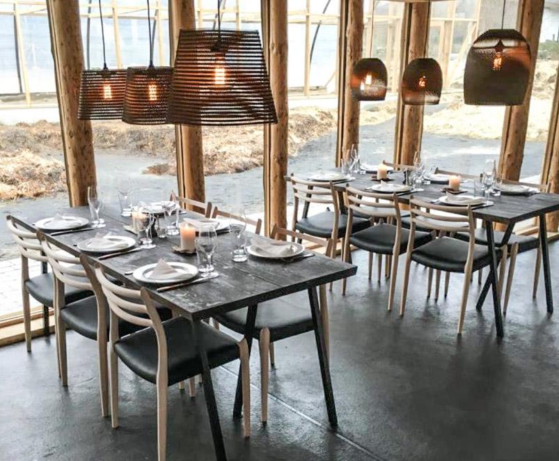 Nordisk stil hos Restaurant Moment