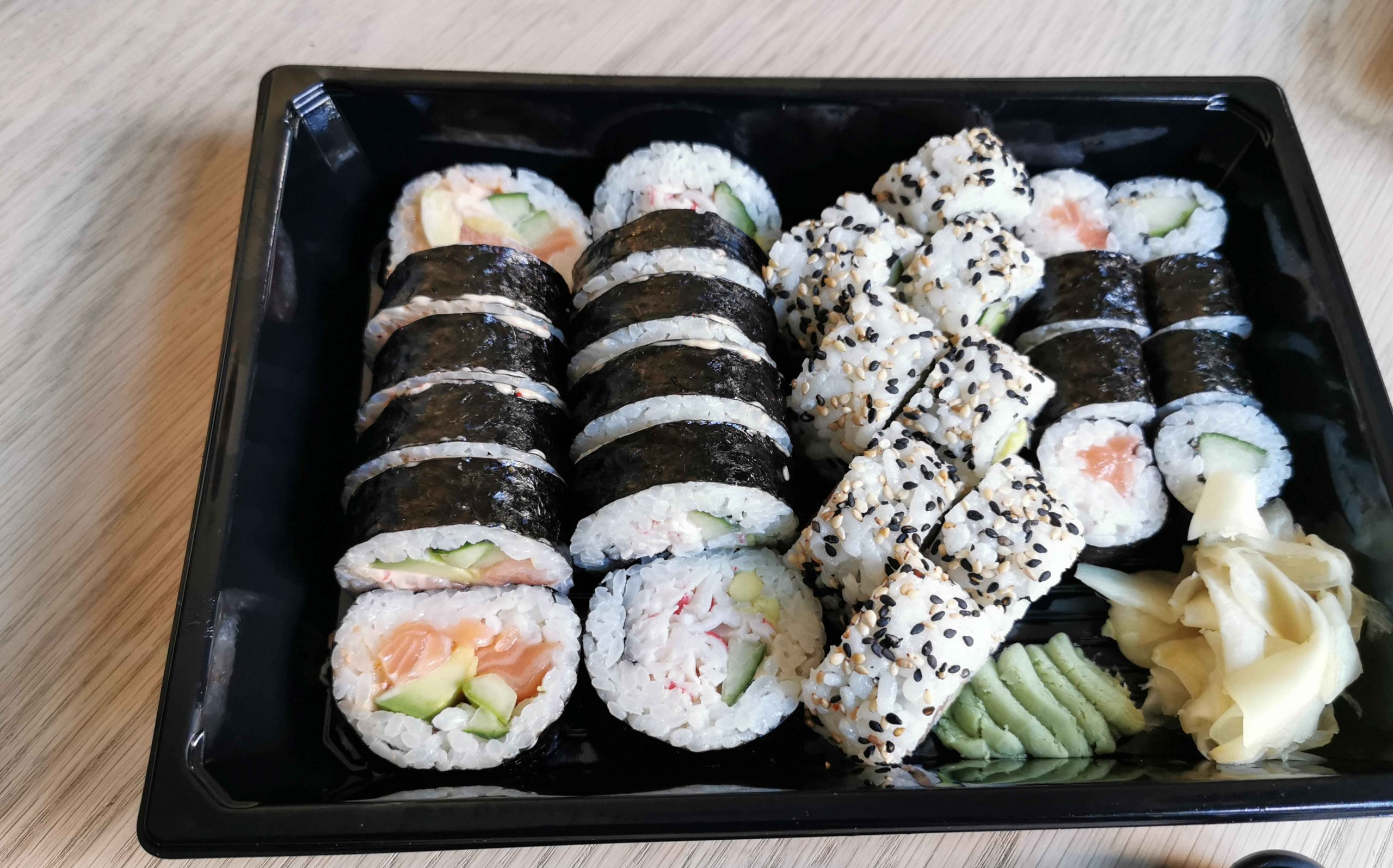 Takeaway-anmeldelse: Glimrende præstation fra Letz Sushi i Guldsmedgade