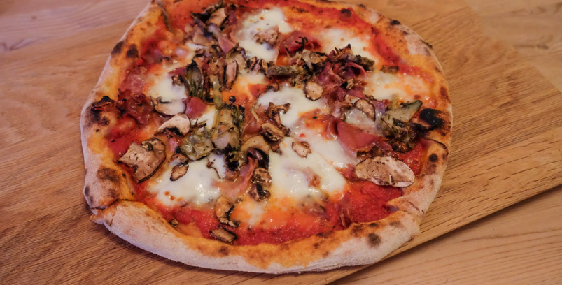 Nummer 51 -Parma funghi - La Trattoria_