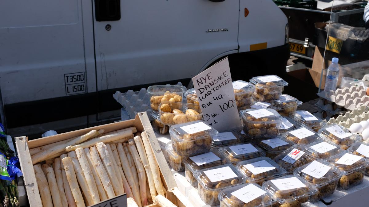 Aarhus Update på besøg - nye danske kartofler på Ingerslevs Boulevard