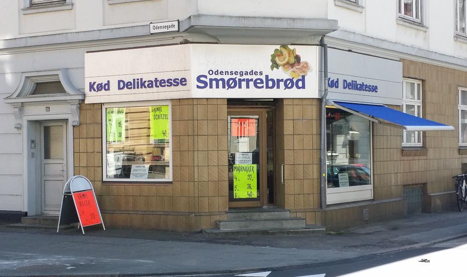 Odensegades Smørrebrød i Aarhus_
