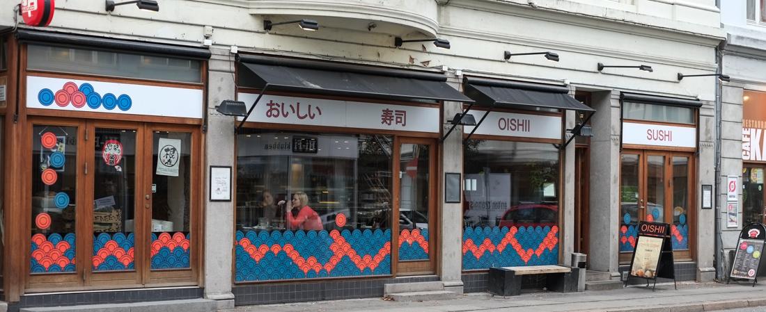 Oishii Sushi i Nørregade