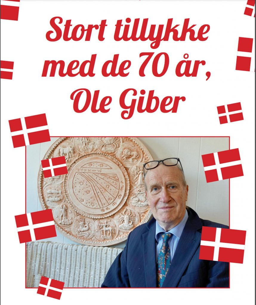 Morfars smørrebrød og bageri: Smørrebrød dedikeret til astrolog Ole Giber