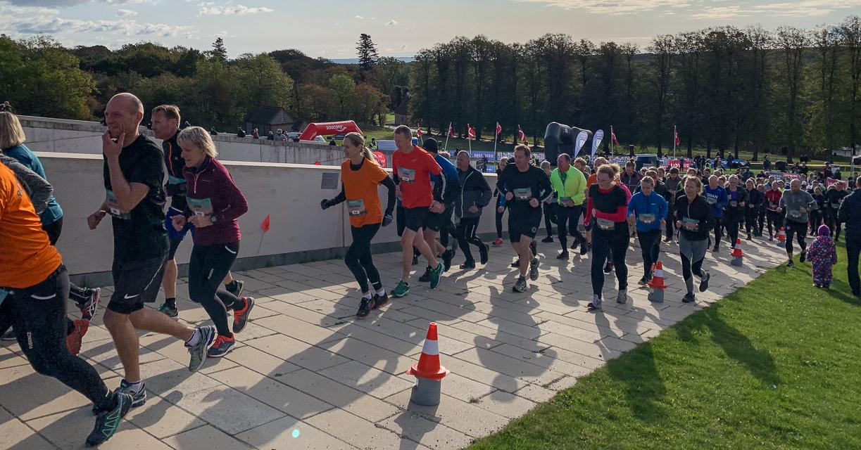 Skønt efterårsvejr og nye ruter til Moesgaard Trail Run 2019