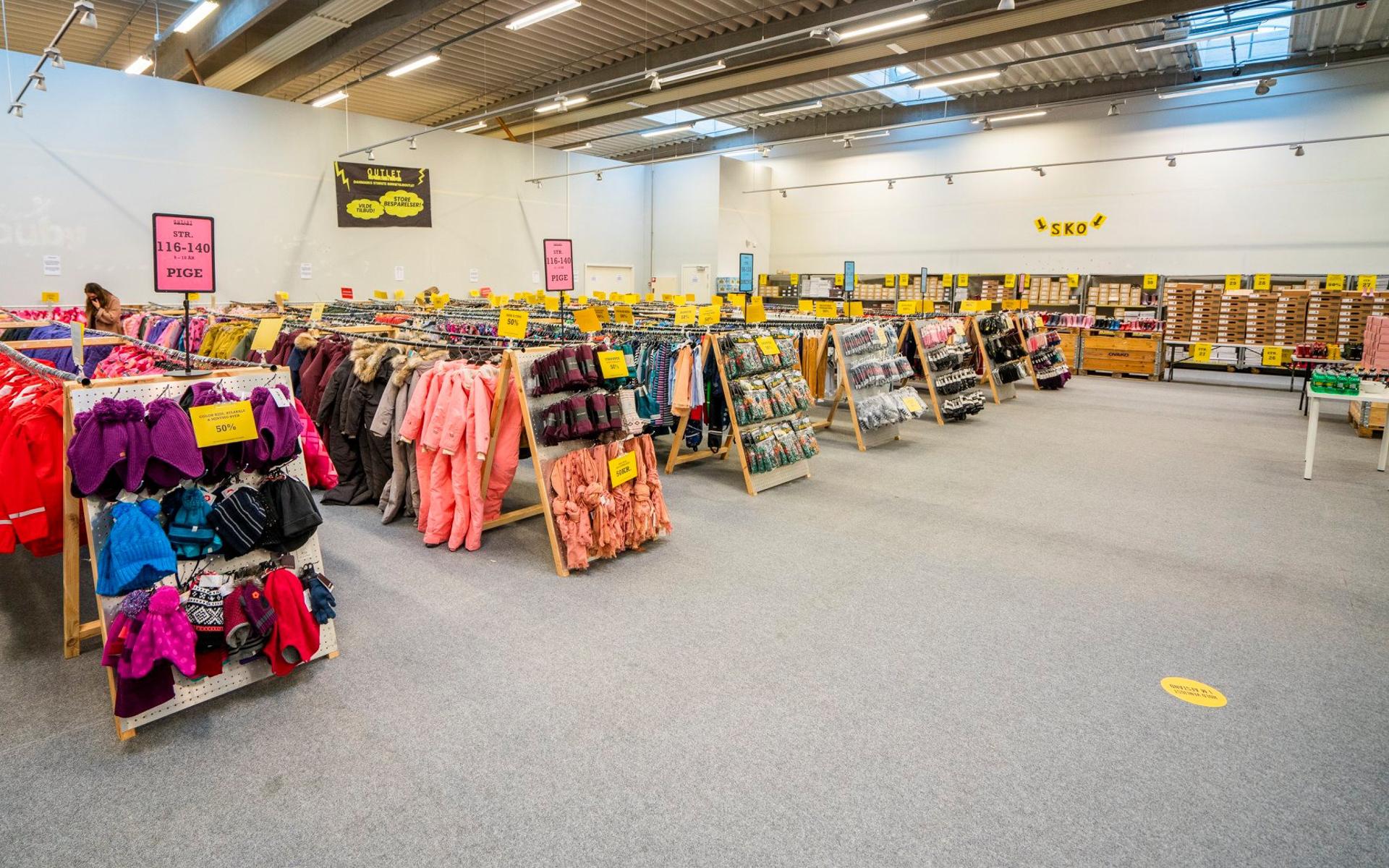 Åbner i næste uge: Danmarks største børnetøjs-outlet rammer Aarhus