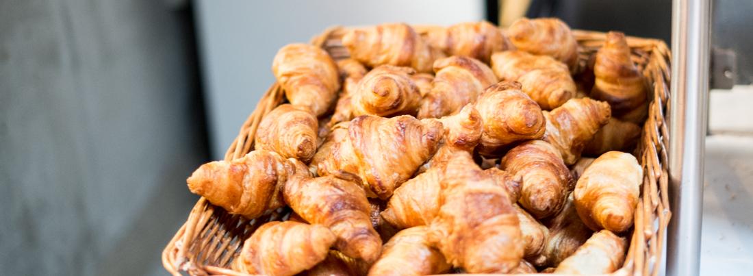 Overraskende gode croissanter hos Aarhus Folkekøkken