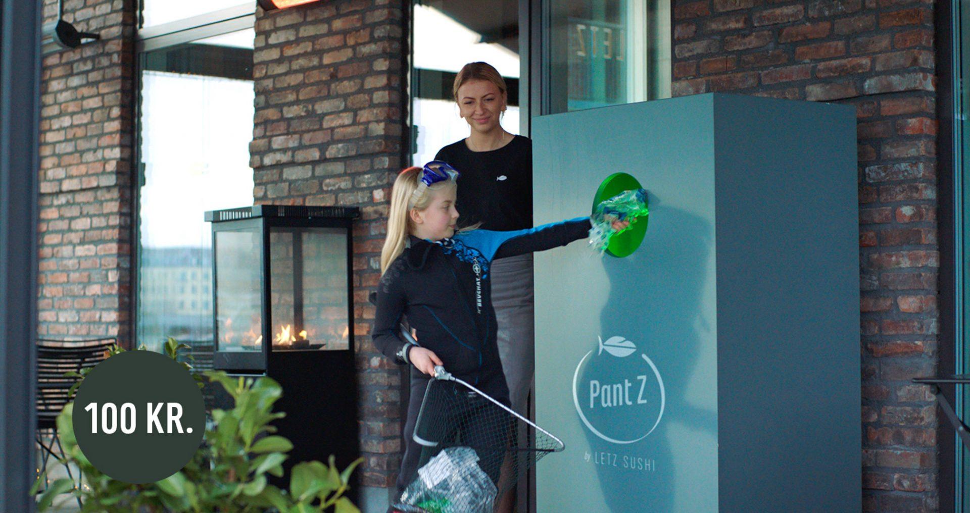 Ønsker pant på takeaway-emballage:LETZ SUSHI lancerer nyt pantmærke