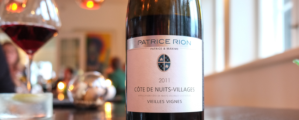 Patrice Rion, Cote du Nuits Villages på Molskroen