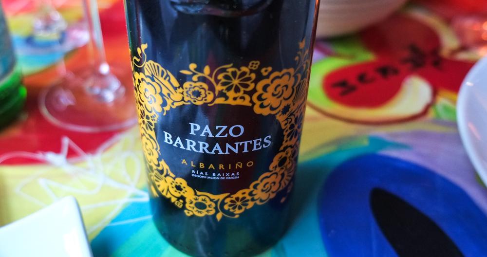 Pazo de Barrantes, Albarino på Mellemrum