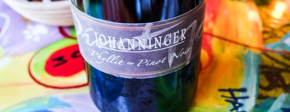 Phyllit Pinot Noir, Weingut Johanninger på Restaurant Mellemrum