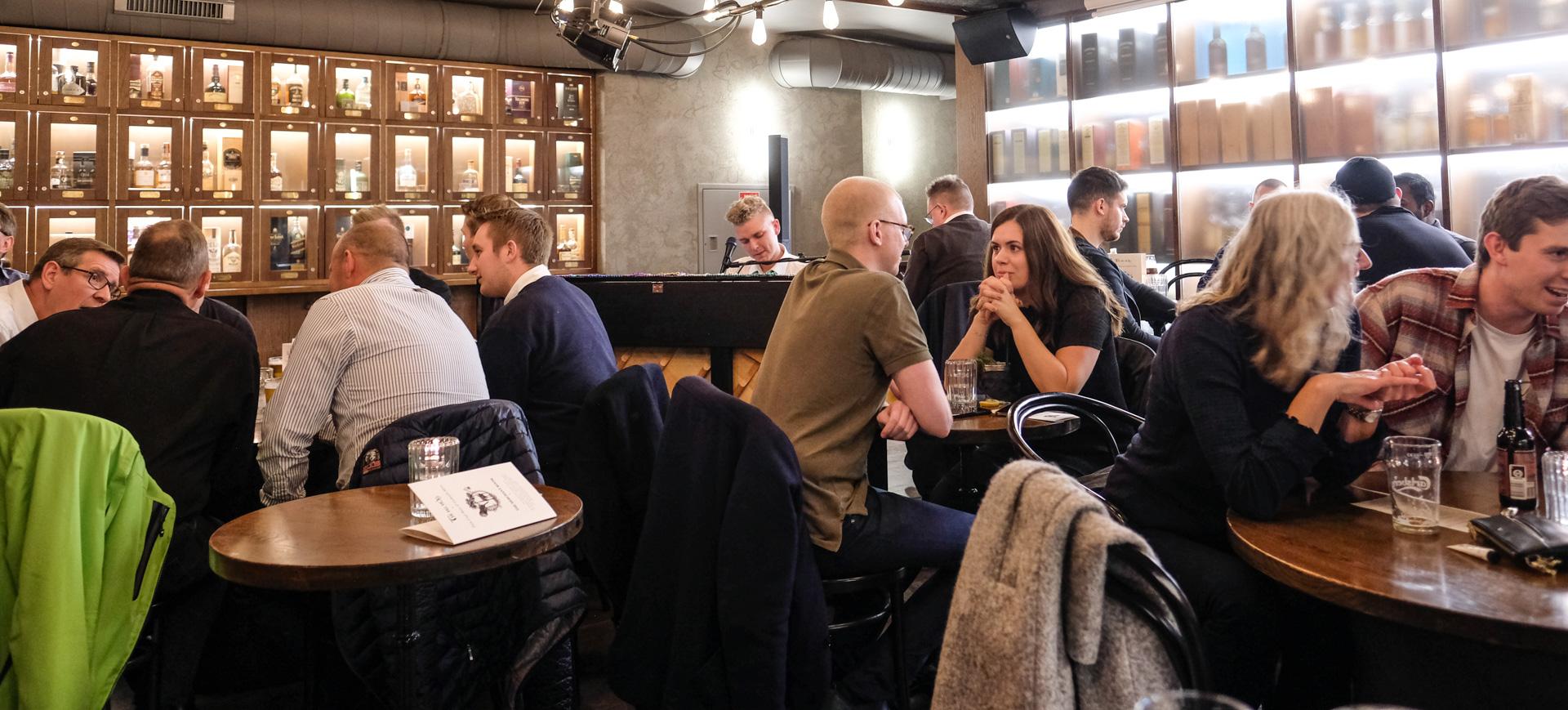Tir Na Nog: Aarhus' nye pianobar blev en kæmpe succes på The Merchant Room