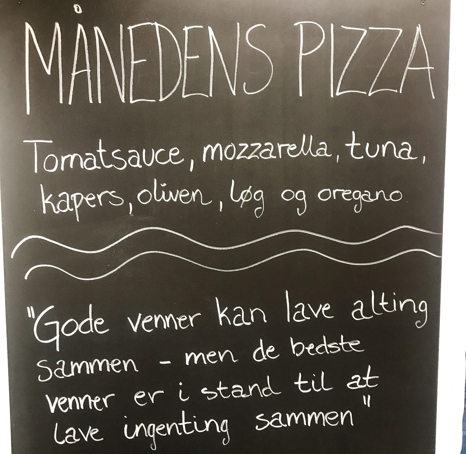 Italiensk pizzajoint: Ny pizza og gratis levering i hele januar måned