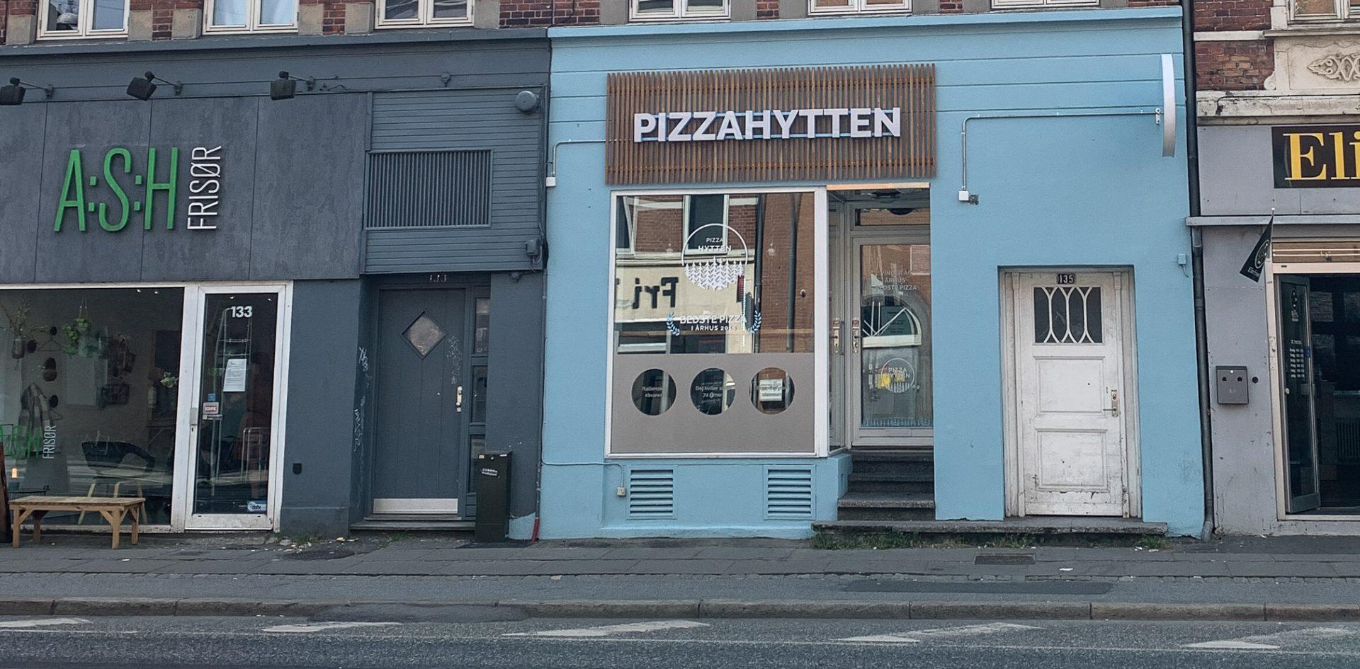 Nyhed: Pizza Hytten på Frederiks Allé er hermed åbnet