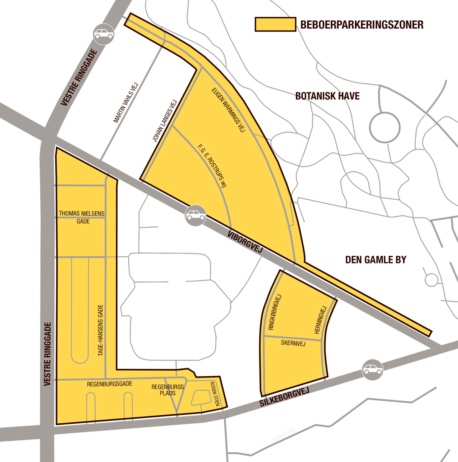 Aarhus C: Nye områder får ændringer i parkeringsforhold