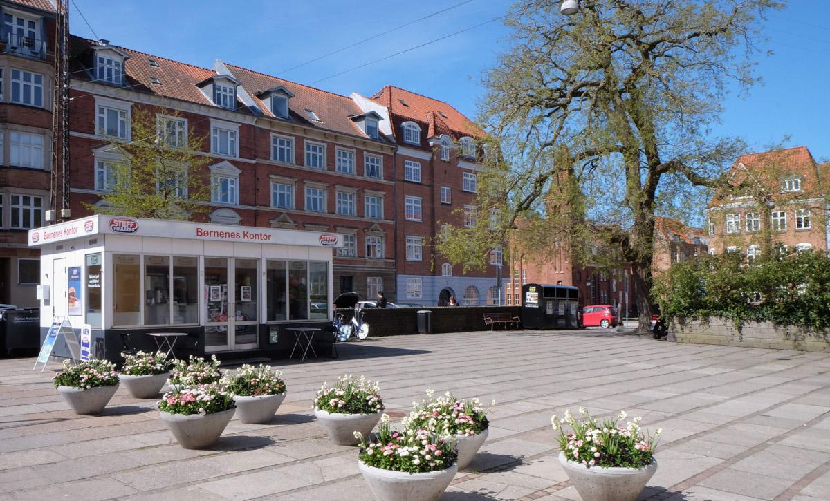 Pølsemanden på Frederiksbjerg Torv er ikke som de andre