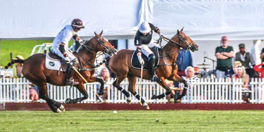 Helt tæt på kongernes sport: Polo på hesteryg på Vilhelmsborg
