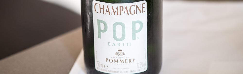 Pommery Champagne, Pop Earth, økologisk Malling Kro