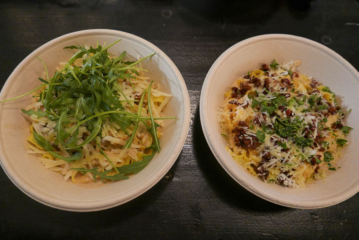 Pasta Party ved Pomodoro: (Med syndsforladelse) En pastaret mere, tak!