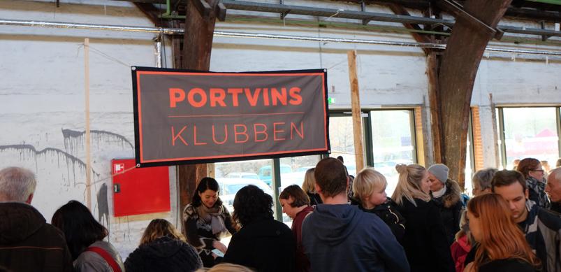 Portvinsklubben på Godsbanen i Aarhus