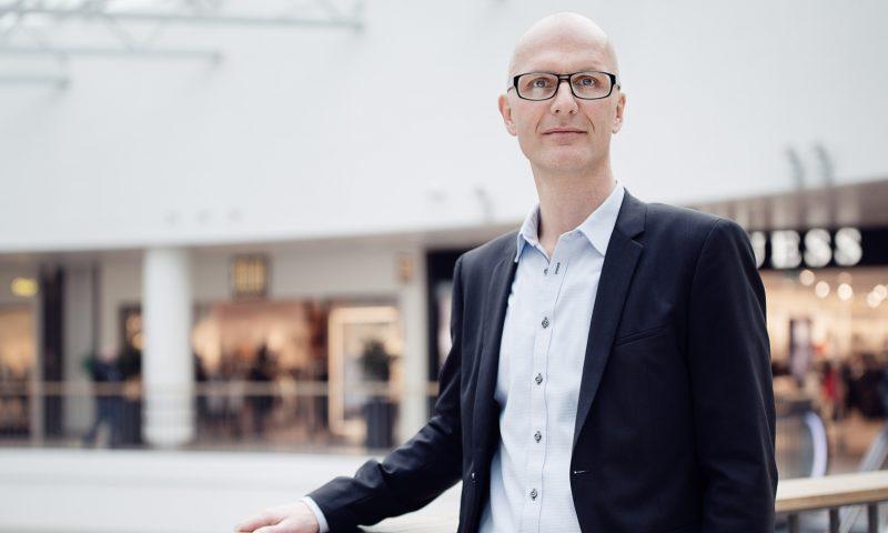 Claus Brændgaard, Center Manager, Bruuns Galleri. Foto: Bruuns Galleri.