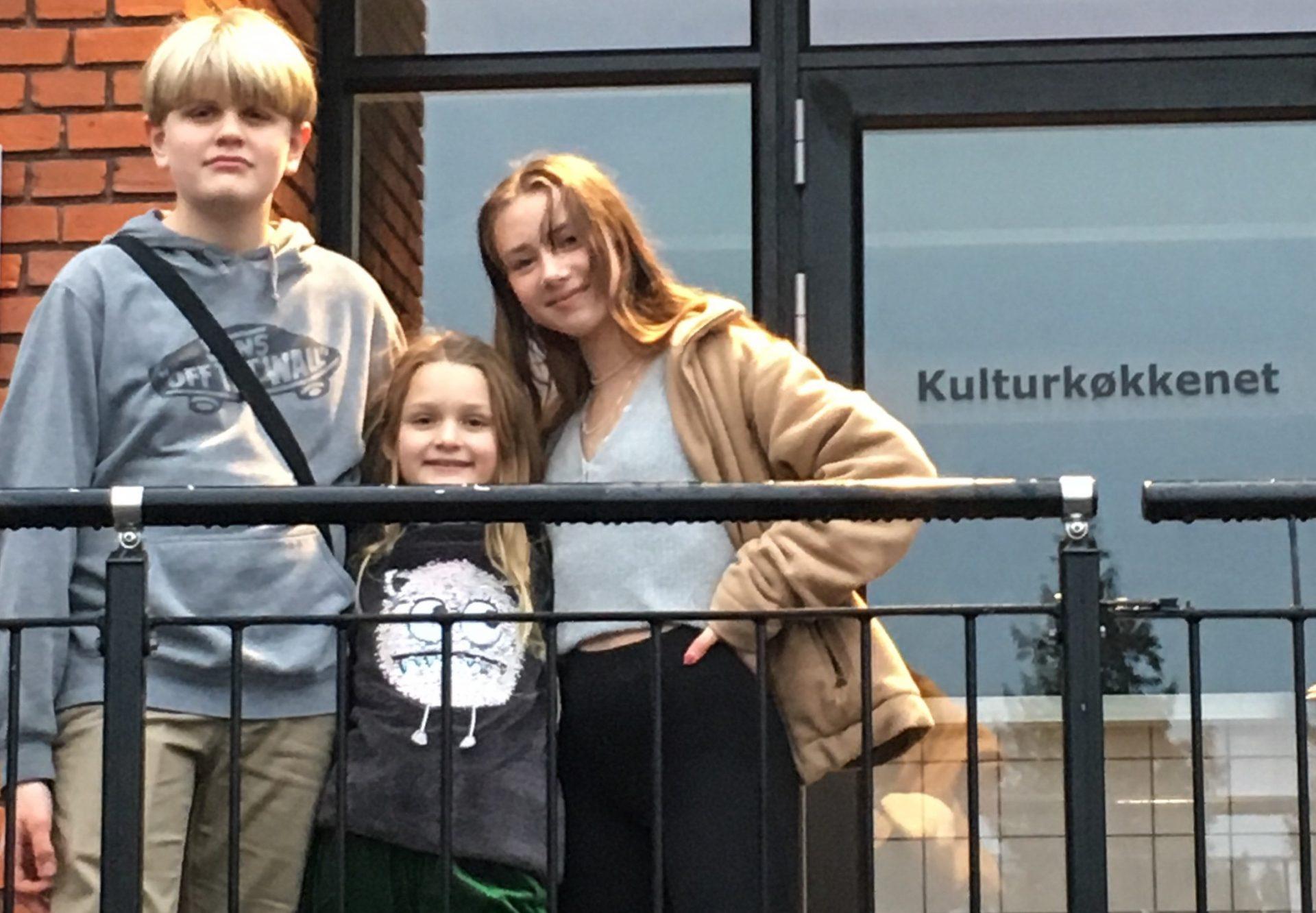 MIKA & TOBIAS: Børn er gået i gang med at arrangere koncerter for børn og unge i Odder