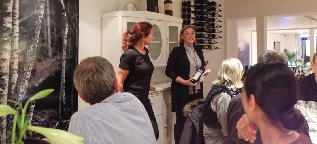 Præsentation af vinen hos Nordens Folkekøkken i Jægergårdsgade
