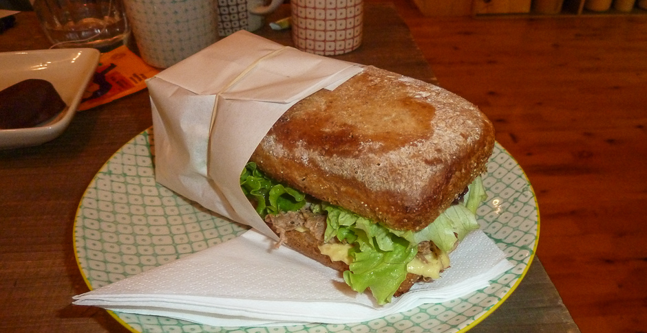 Pulled pork sandwich hos Fika i Jægergårdsgade