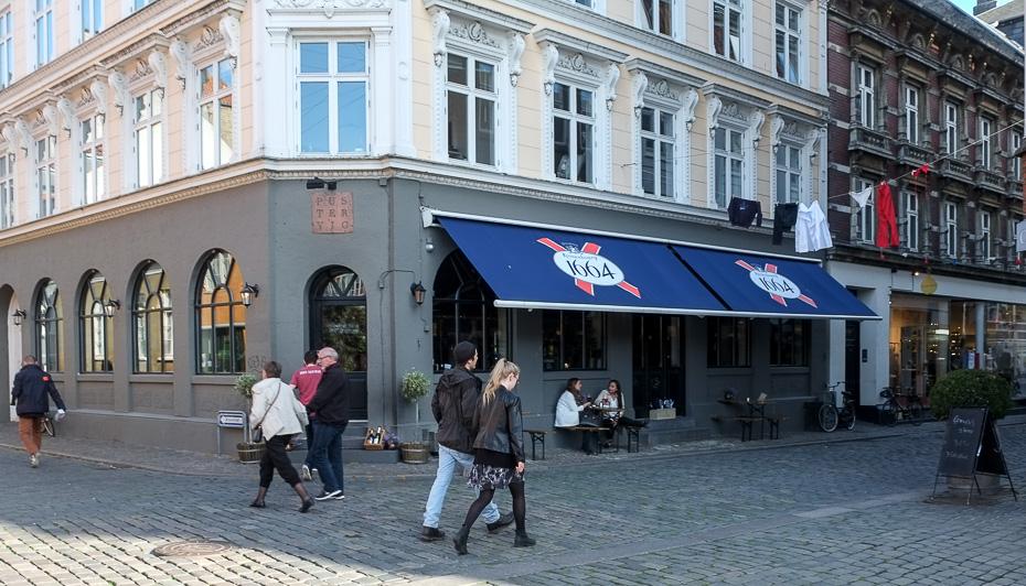 Pustervig på Pustervig Torv i Aarhus