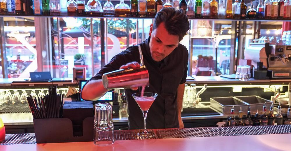 Raspberries Martini på Castenskiold