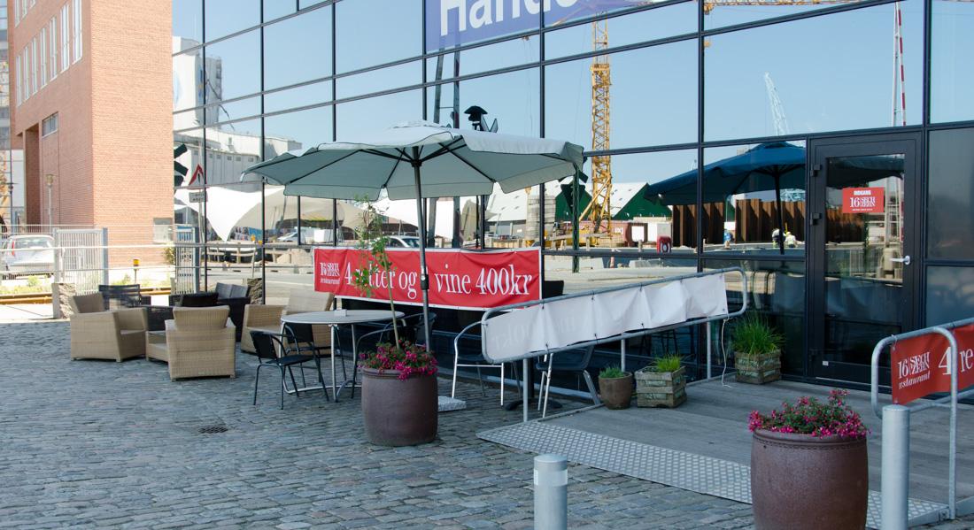 Restaurant 16 Sechzehn på Aarhus Havn