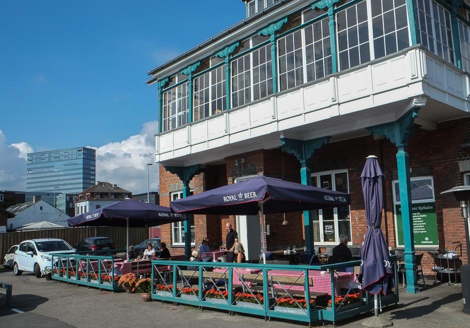 Restaurant Kohalen på Aarhus Havn
