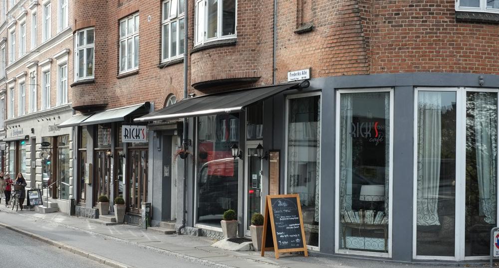 Restaurant Rick's i Aarhus