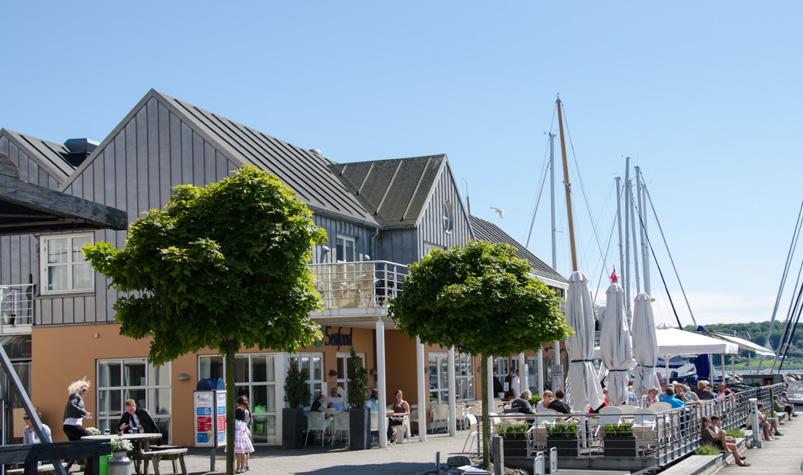 Restaurant Seafood på Marselisborg Havn