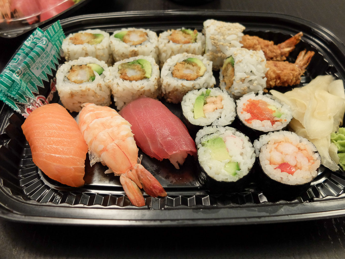 Postnummer 8240: Tør sushi uden smag, men vinen var god
