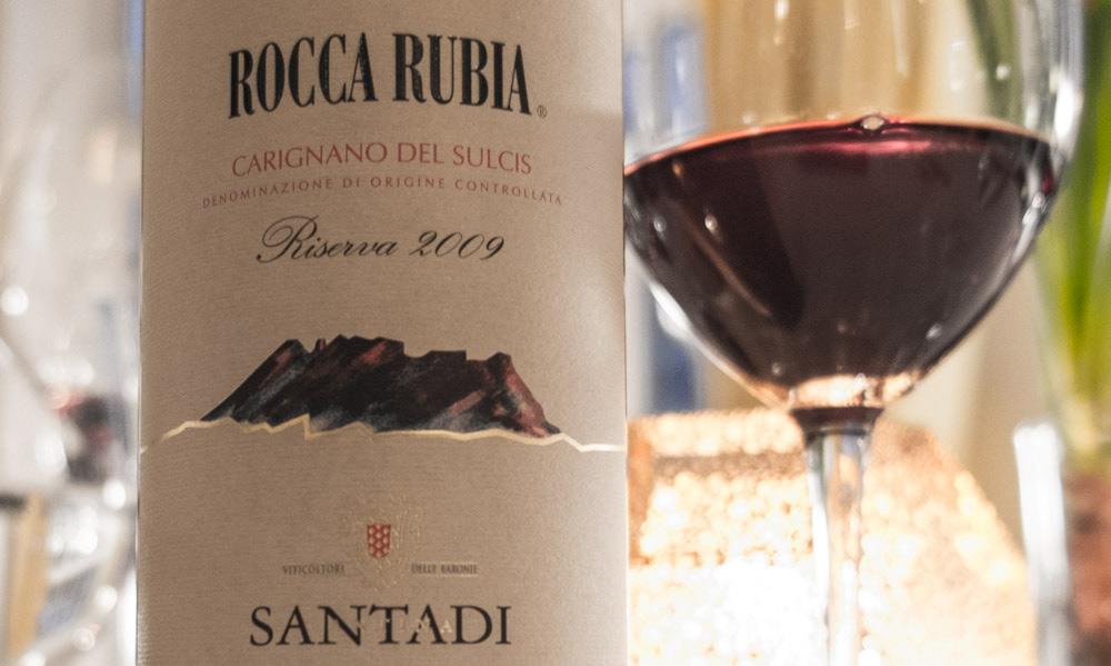 """Rocca Rubia 2009 """"Riserva"""", Santadi på Restaurant Varna"""