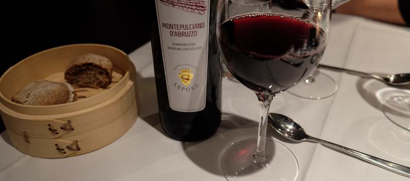 Rødvinen på dagens vinmenu - Veto i Aarhus_