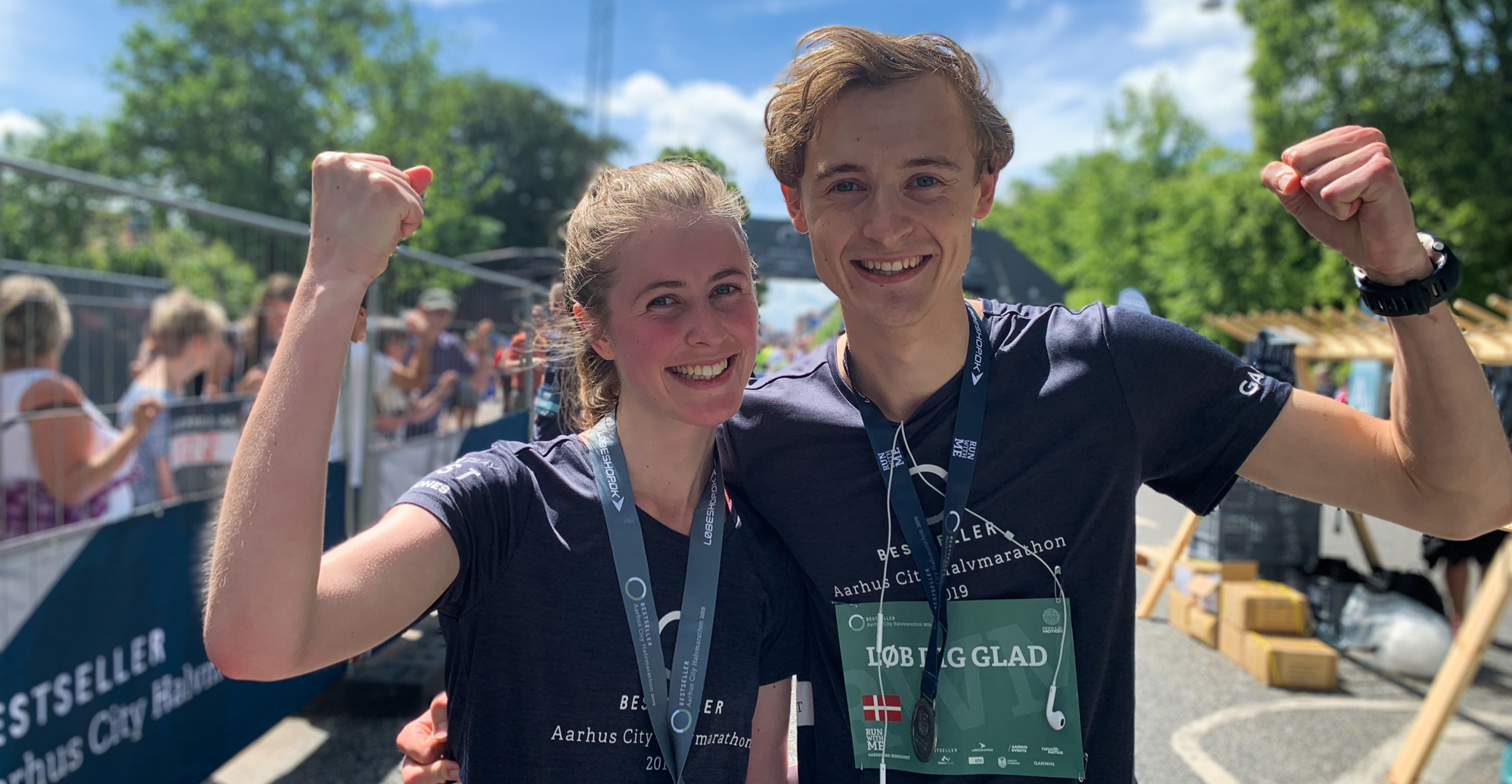 BESTSELLER Aarhus City Halvmarathon: Hele Aarhus festede med til årets halvmarathon