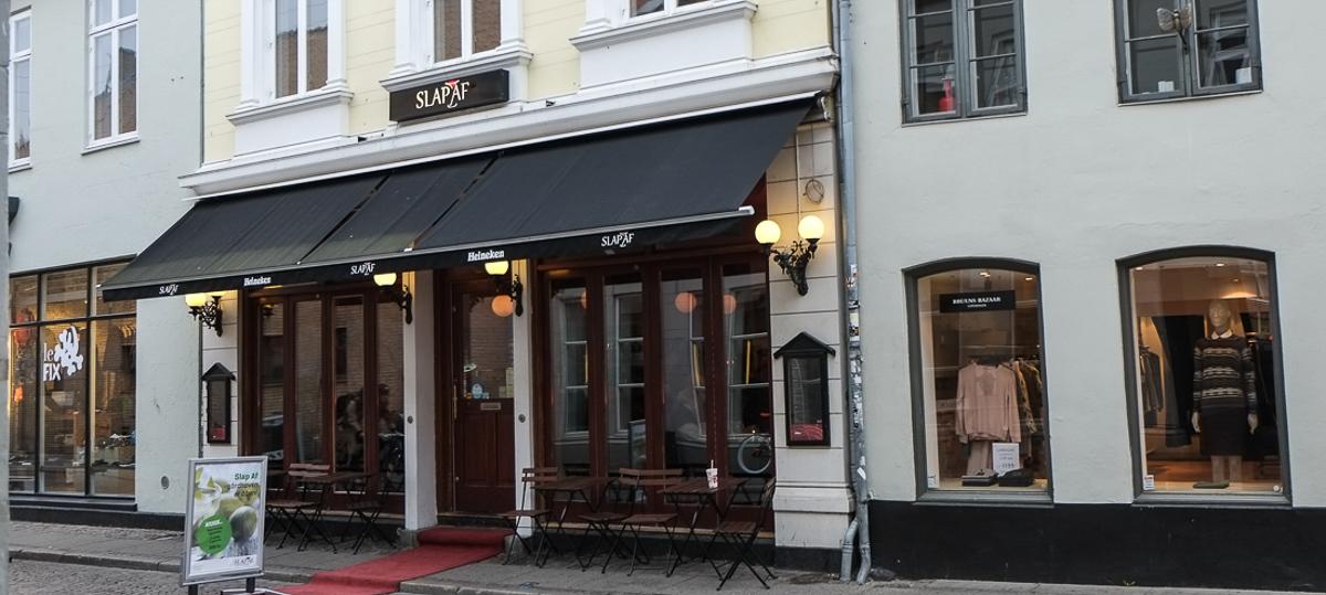 SLAP AF i Studsgade i Aarhus