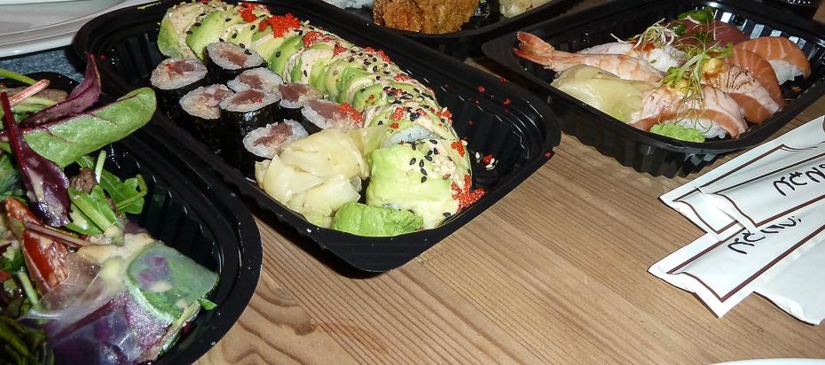 Sake avocado kaburi fra A+ Siam Sushi i Aarhus